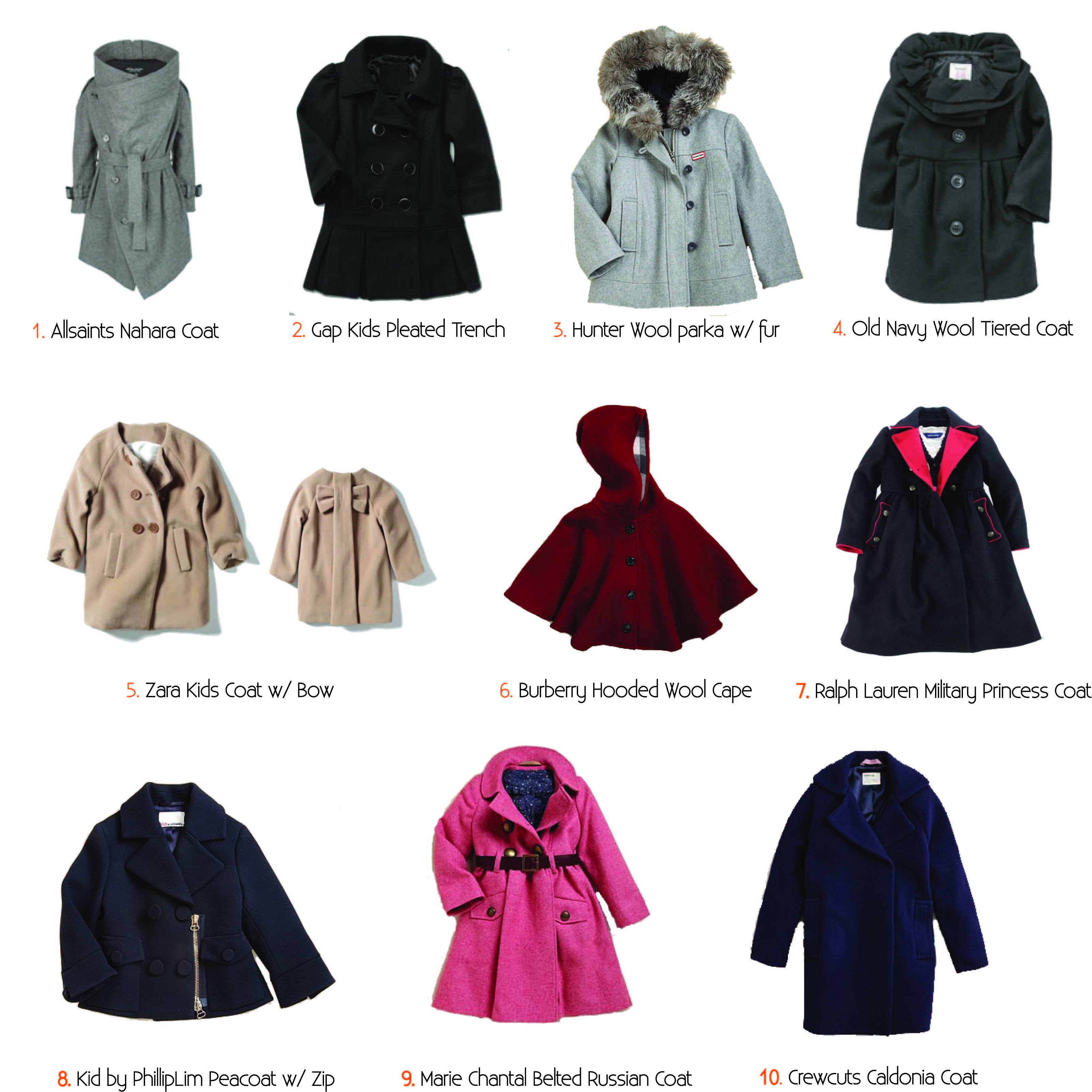 8e5af3eaceb4 a style guide to the perfect winter coats  girls