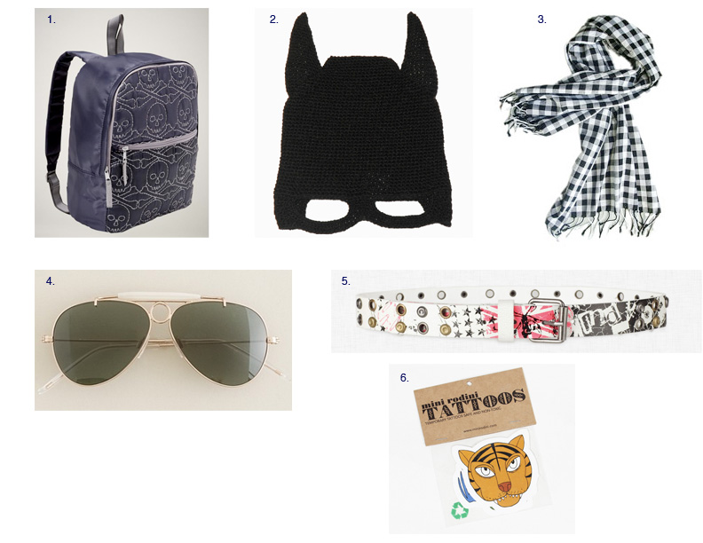 little style of the day: boys' accessories | littlestylefinder